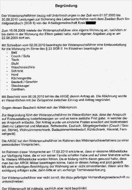Antrag Auf Erstausstattung Berlin Muster