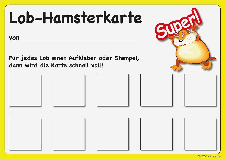 belohnungstabelle kinder vorlage luxus lob hamsterkarte