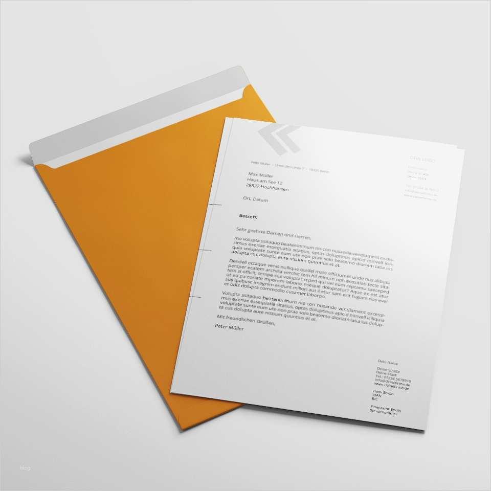 Indesign Briefvorlage