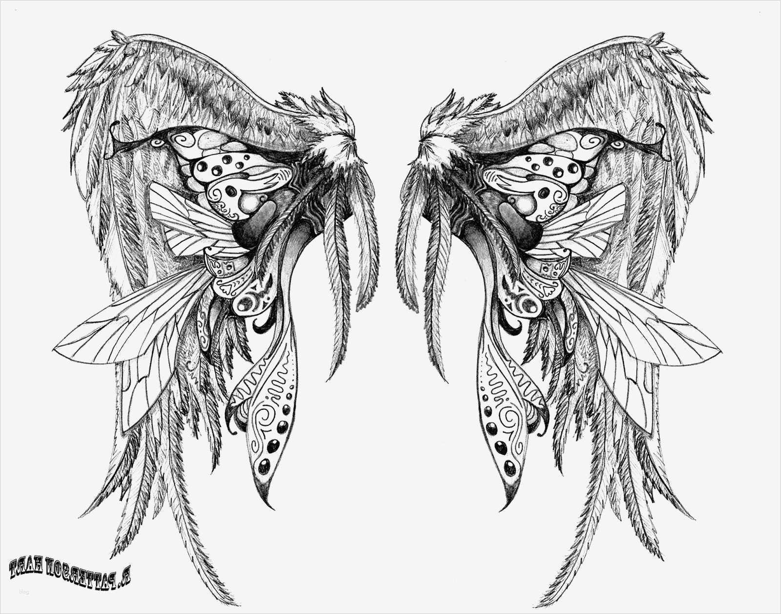 engelsflügel vorlage erstaunlich das beliebte tattoo von