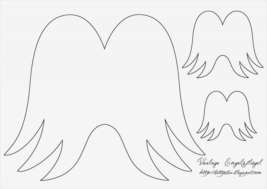 engelsflügel vorlage gut adventskalender neunte  vorlage