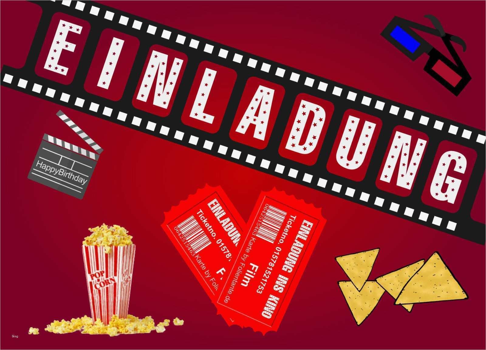 filmklappe basteln vorlage hübsch kino einladungskarten