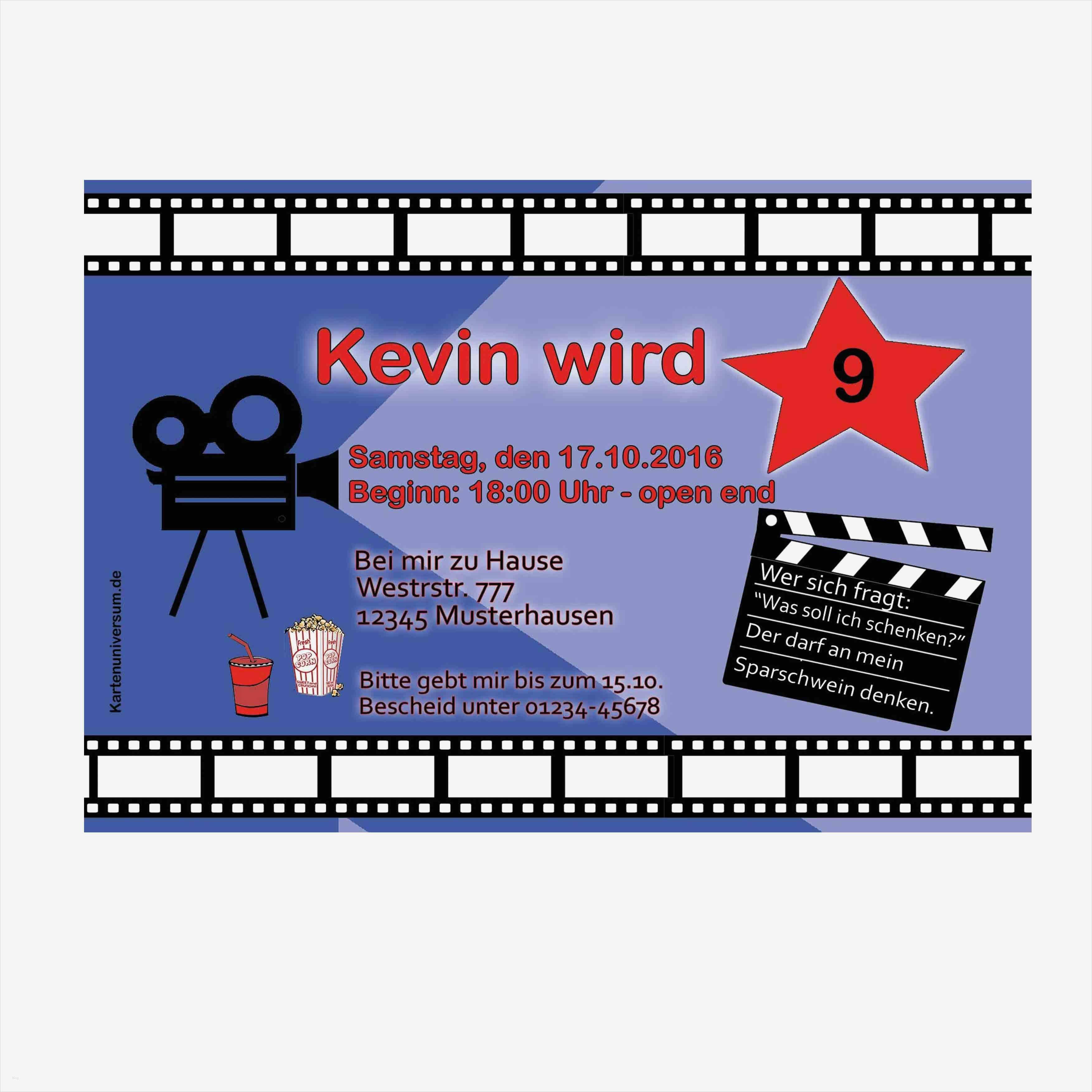 filmklappe einladung vorlage kostenlos best of