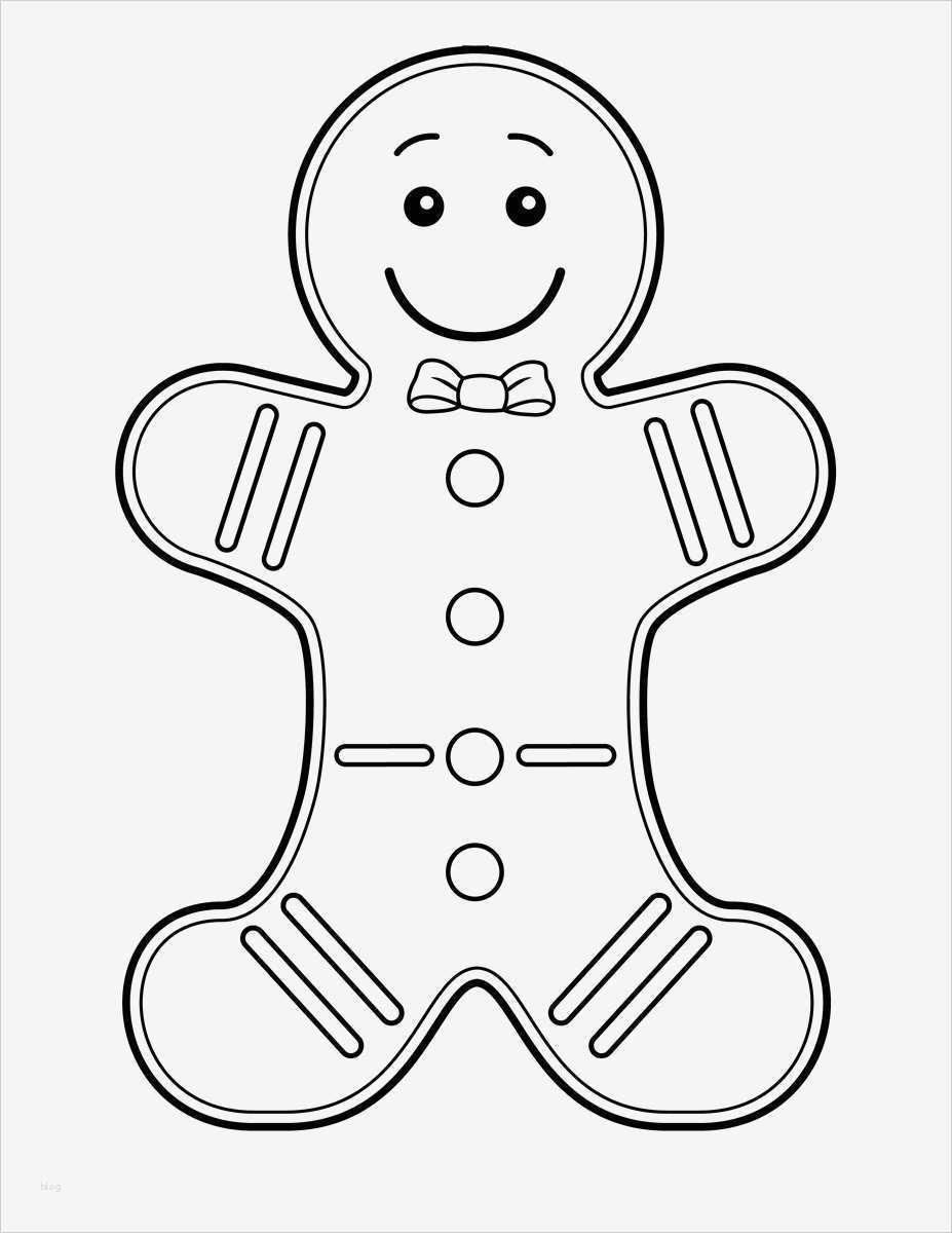 lebkuchenmann vorlage neu free printable gingerbread man