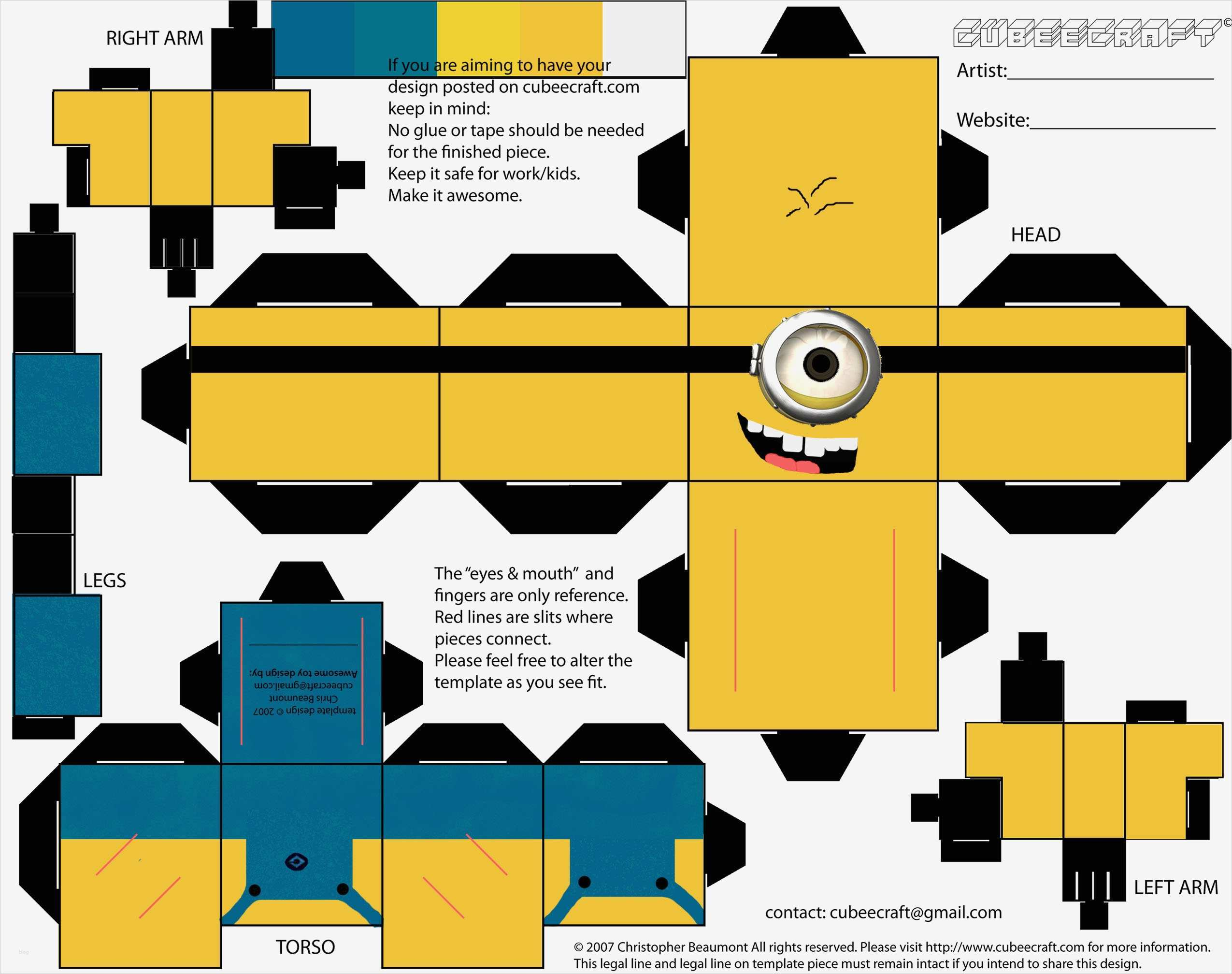 Chip Papercraft Tiere