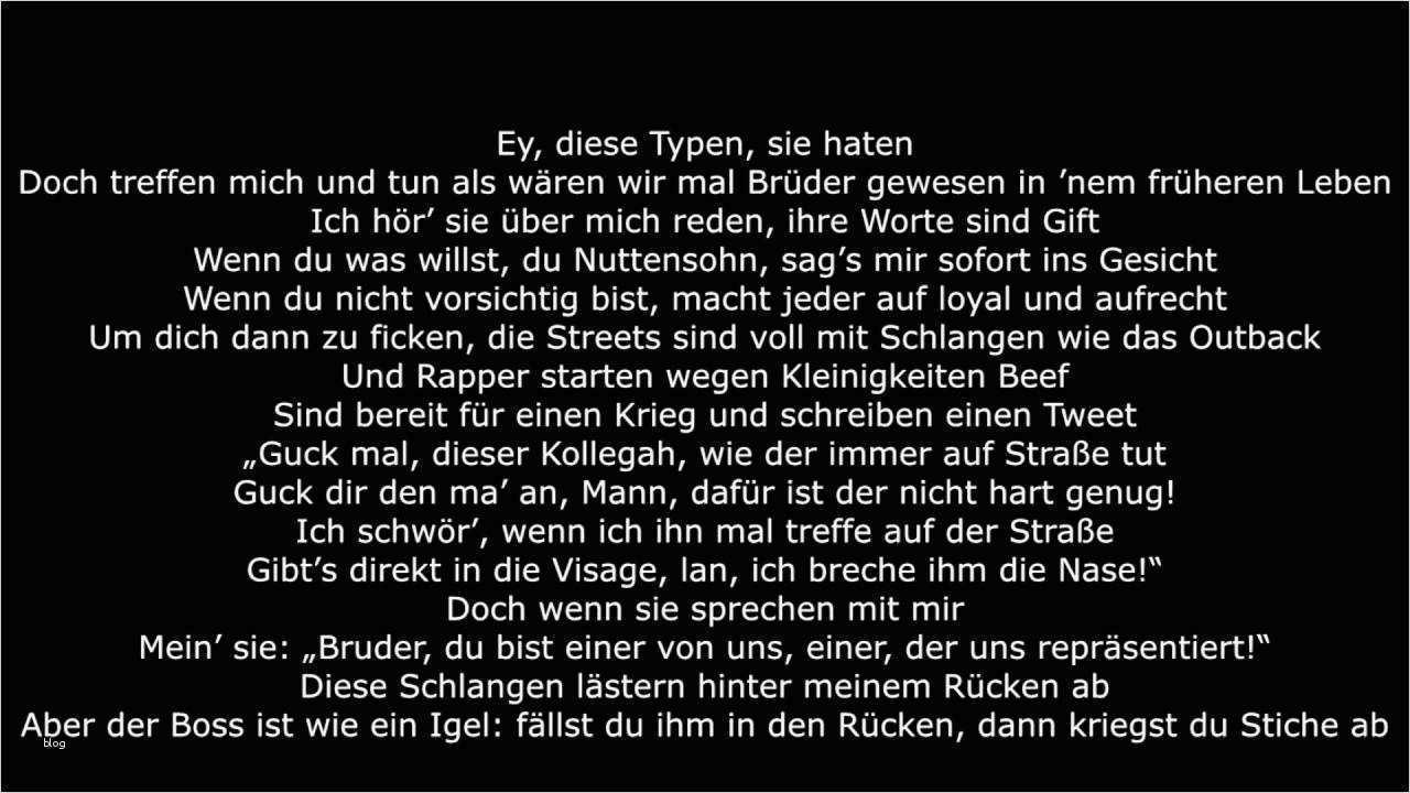 Rap Text Deutsch Vorlagen Erstaunlich Seyed Feat Kollegah