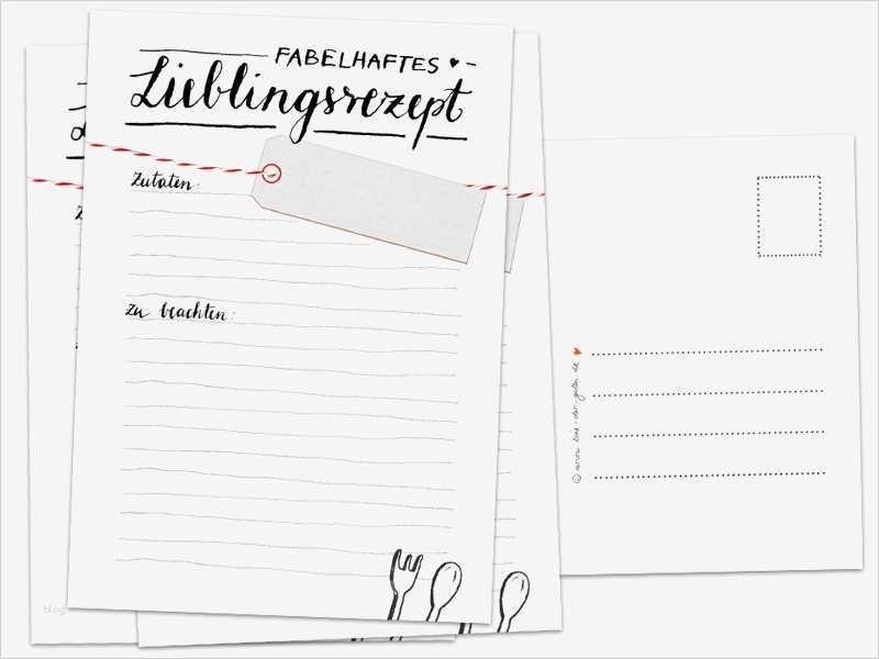 Rezept Als Vorlage Zum Runterladen Wordvorlage De 3