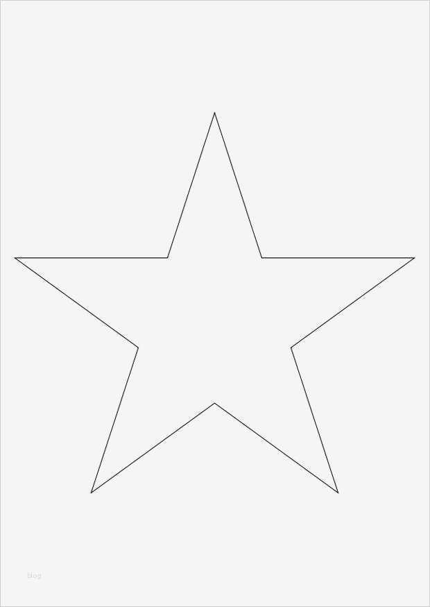 Malvorlage Stern A4
