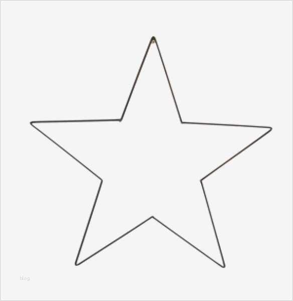 sternschnuppe vorlage zum ausdrucken schön stern groß für