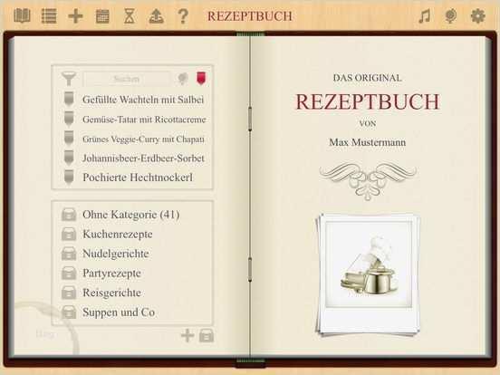 Rezeptbuch App