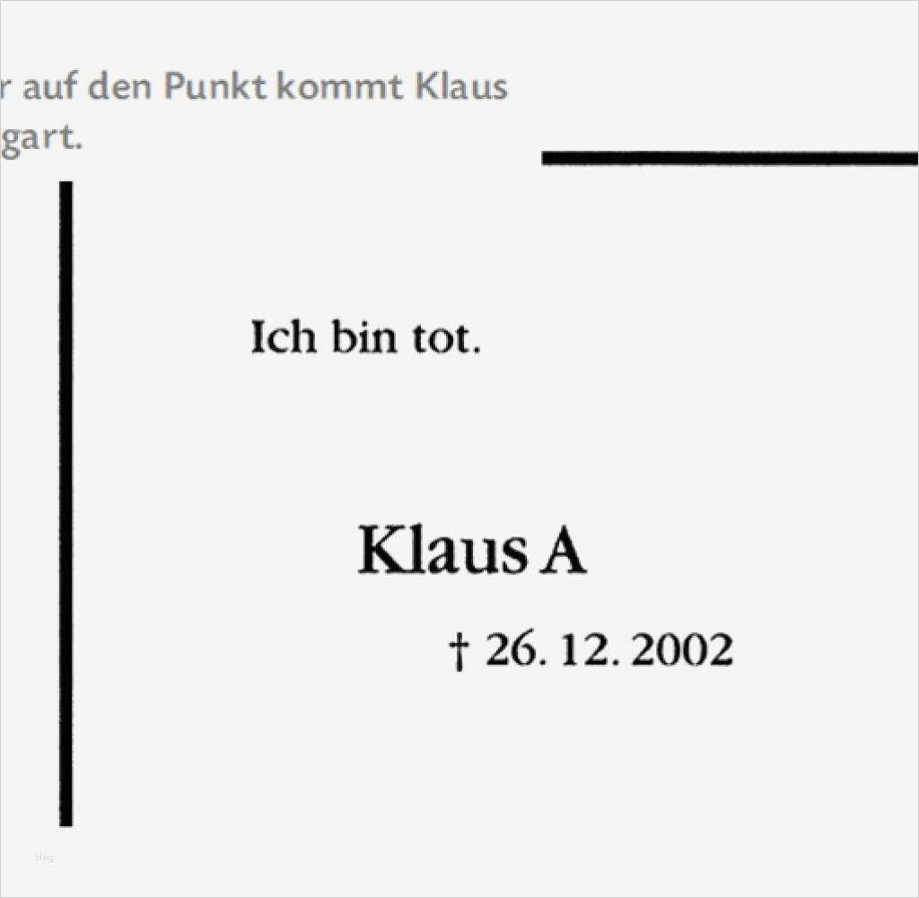Vorlage Traueranzeige Word Schön Großartig todesanzeige ...