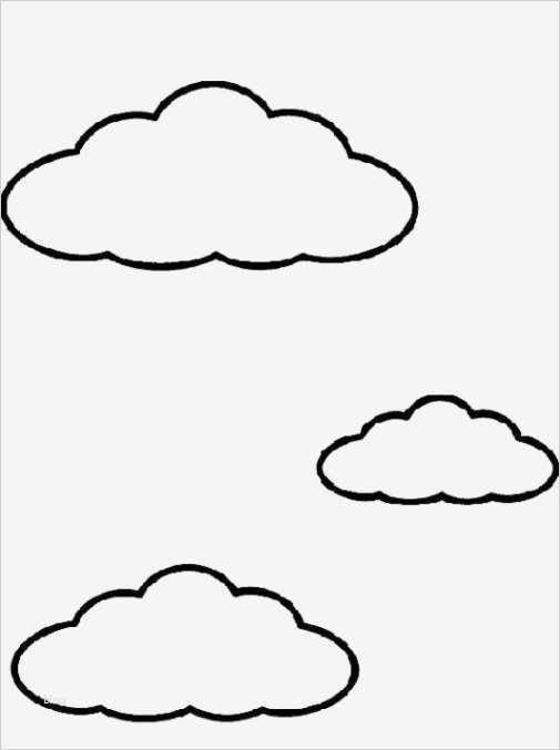 wolke vorlage einzigartig ausmalbilder wolken malvorlagen