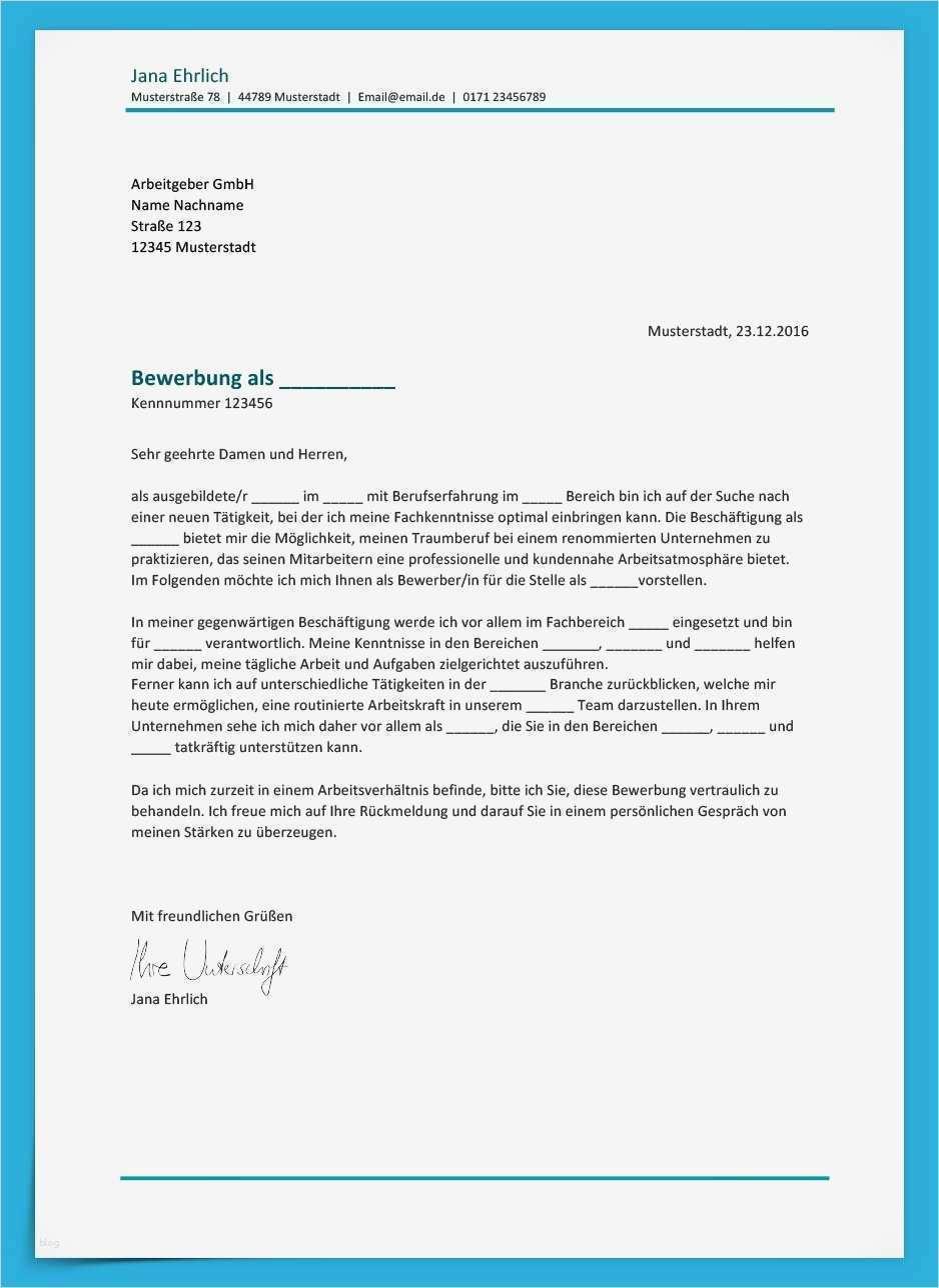 Word Vorlage Anschreiben Schön Bewerbungsvorlage Klassisch