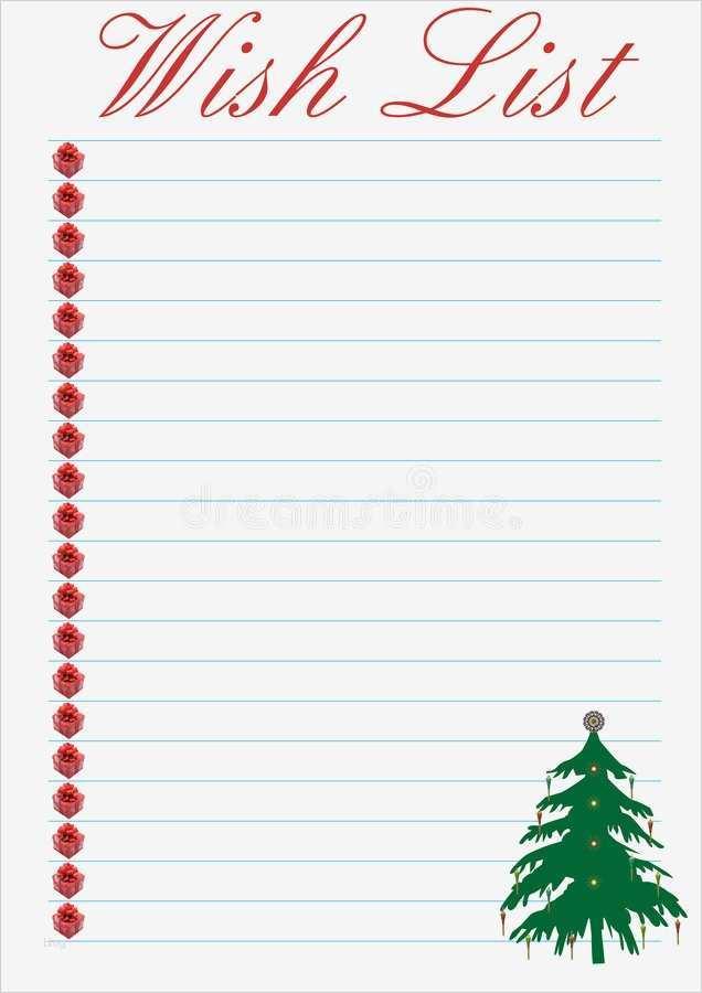 wunschliste weihnachten vorlage erstaunlich wunschzettel