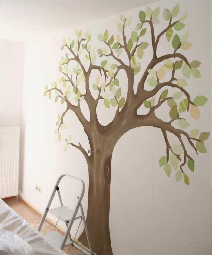 Baum Malen Wand