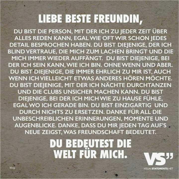 Brief An Meine Beste Freundin Vorlage Einzigartig Die